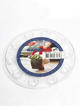 6ONDR1500 Transparant saucers