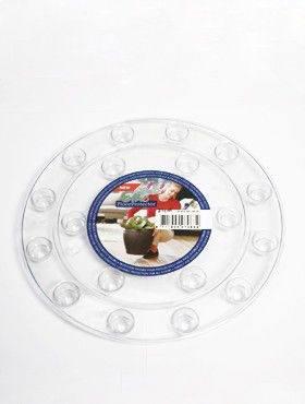 6ONDR2100 Transparant saucers