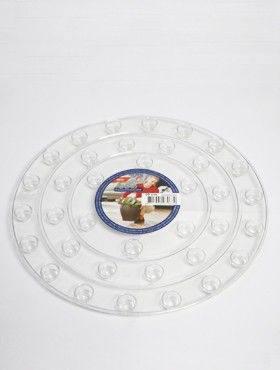 6ONDR3000 Transparant saucers