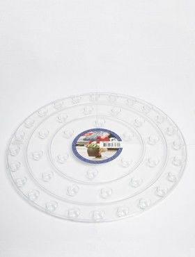 6ONDR3500 Transparant saucers
