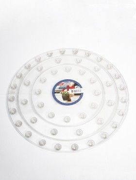 6ONDR4000 Transparant saucers