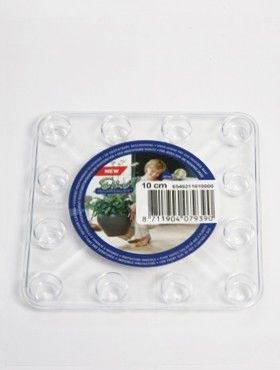 6ONDV1000 Transparant saucers