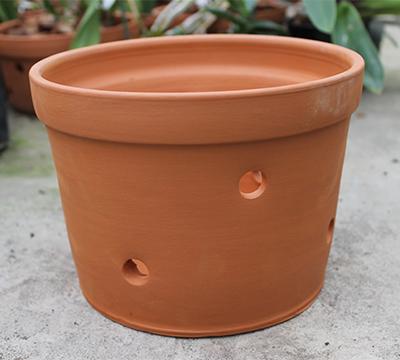 Вазон для орхидей керамический, D 20 см, H 15 см