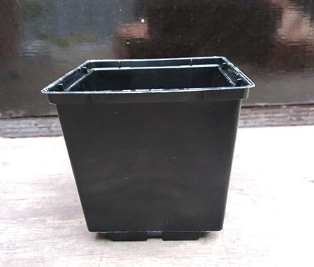 Вазон квадратный 6x5,5 см