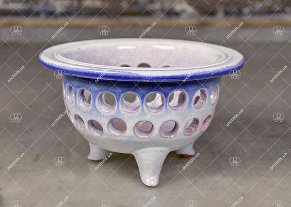 Вазон для орхидей керамический Seikai D 12 см, H 9 см