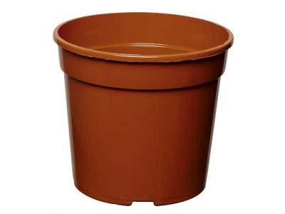 Вазон терракотовый 10,5х8 см (0,46 литра)